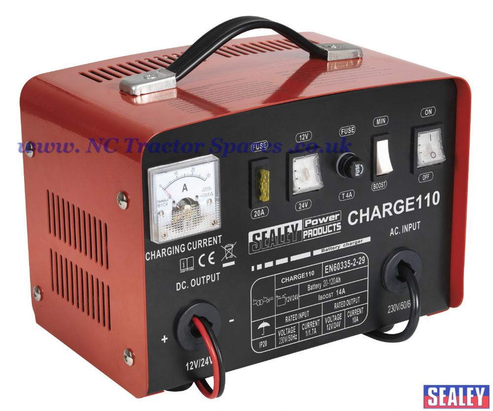 Battery Charger 14Amp 12/24V 230V